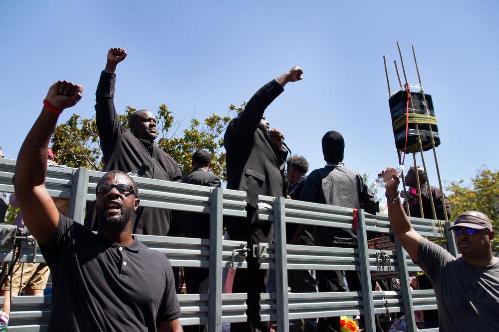 Rally Against Hate, Berkeley