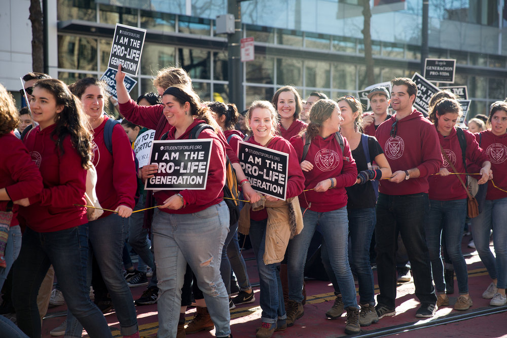 Walk For Life / Rally for Reproductive Justice, San Francisco