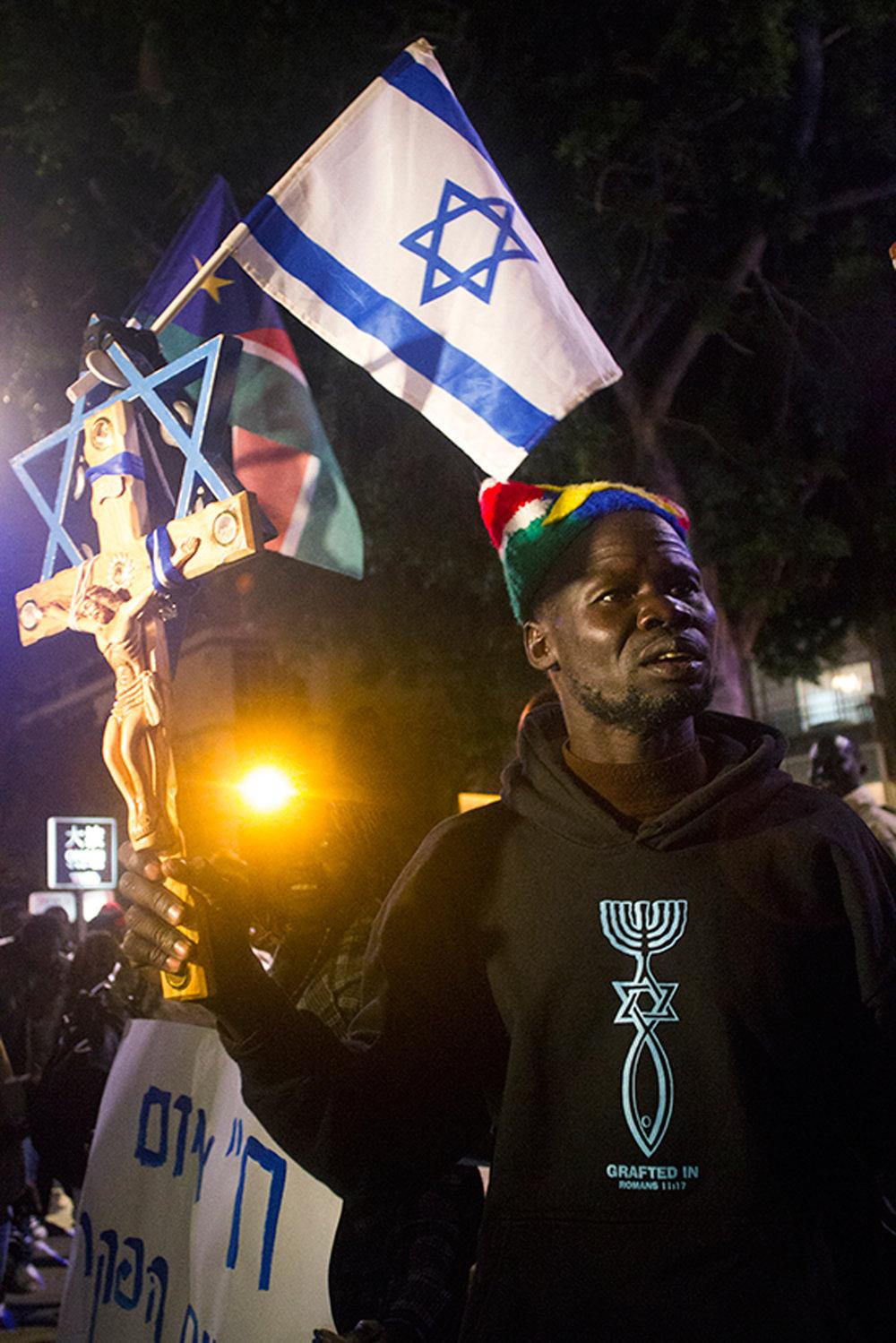 Sudanese Deportation Protest - Tel Aviv, Israel/Palestine