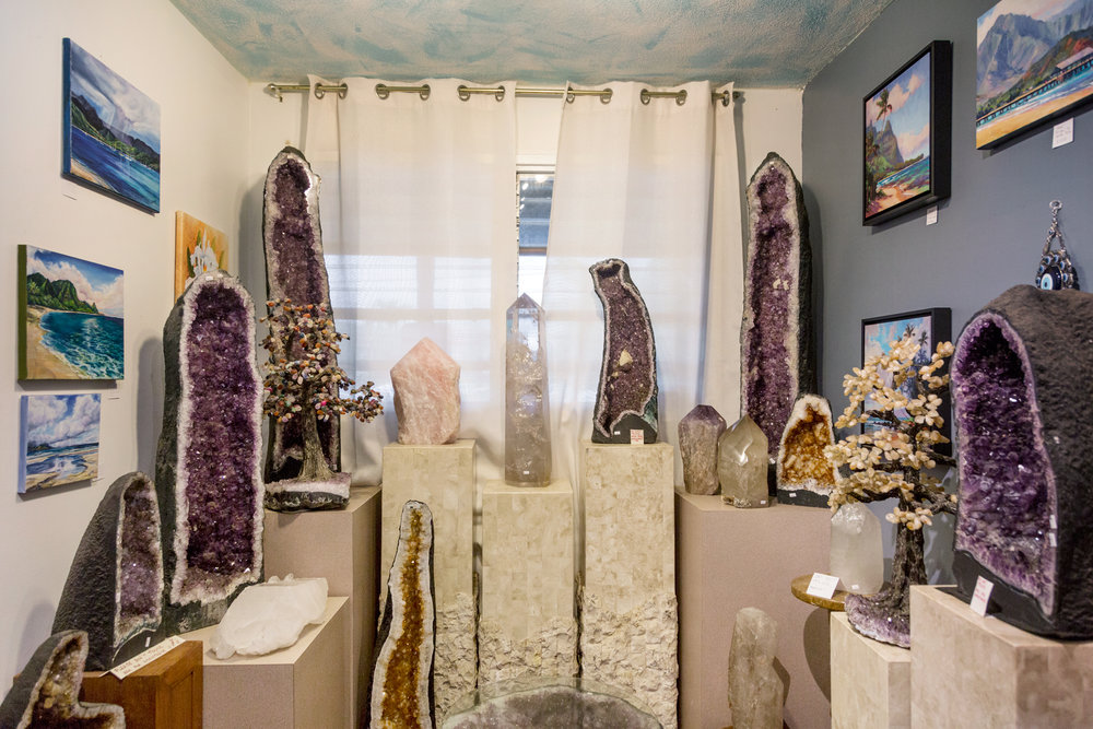 Crystals and Gems Gallery, Kaua'i