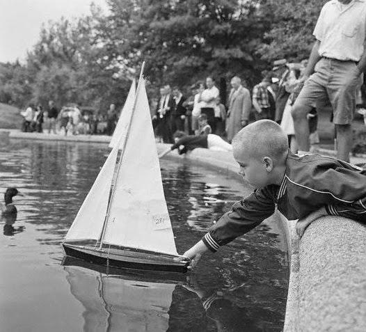1963 Conservatory Pond, New York Cit