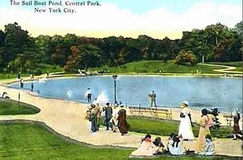 The Sailboat Pond, Central Park, NY