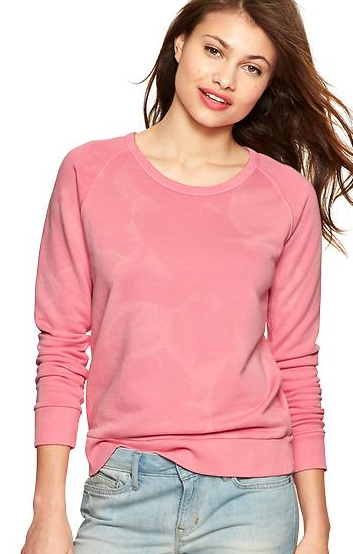 Cottage Pink top from the Gap