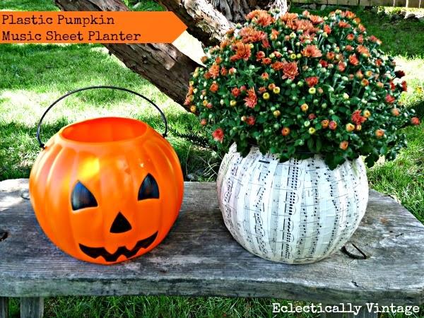 PlasticPumpkinPlanter-EclecticallyVintage.jpg