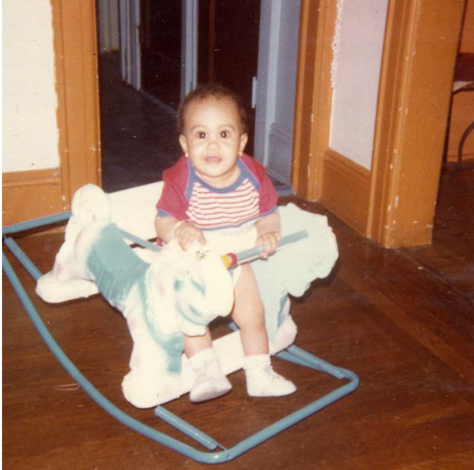 My first ride on toy in 1979.