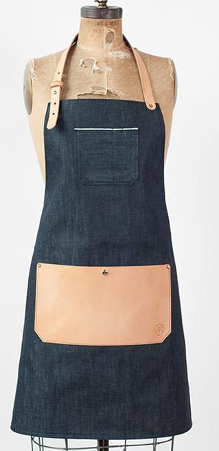 denim apron from  American Native