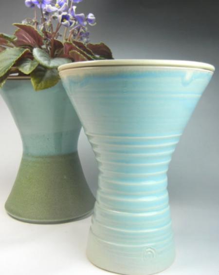 Kamspots African Violet Pot