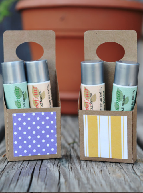 lip balm kit from  New Leaf Naturals