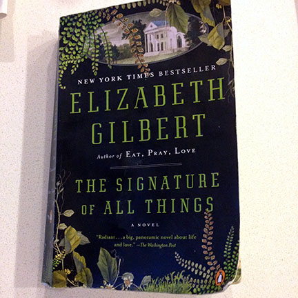 The Signature of all Things by Elizabeth Gilbert, educational and entertaining