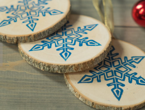 from  Kaibelle wooden ornaments