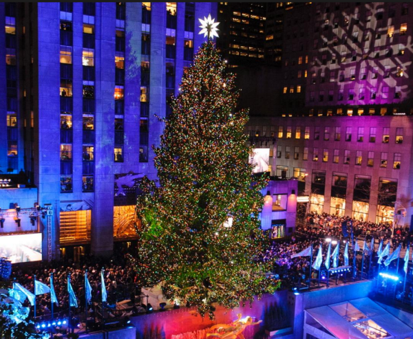 nydailynews  Rockefeller Tree 2015