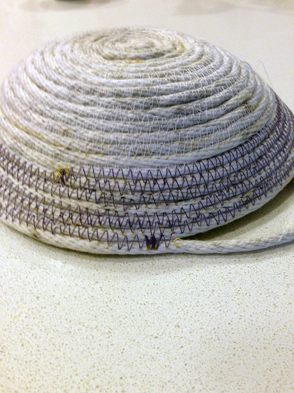 rope bowl purple