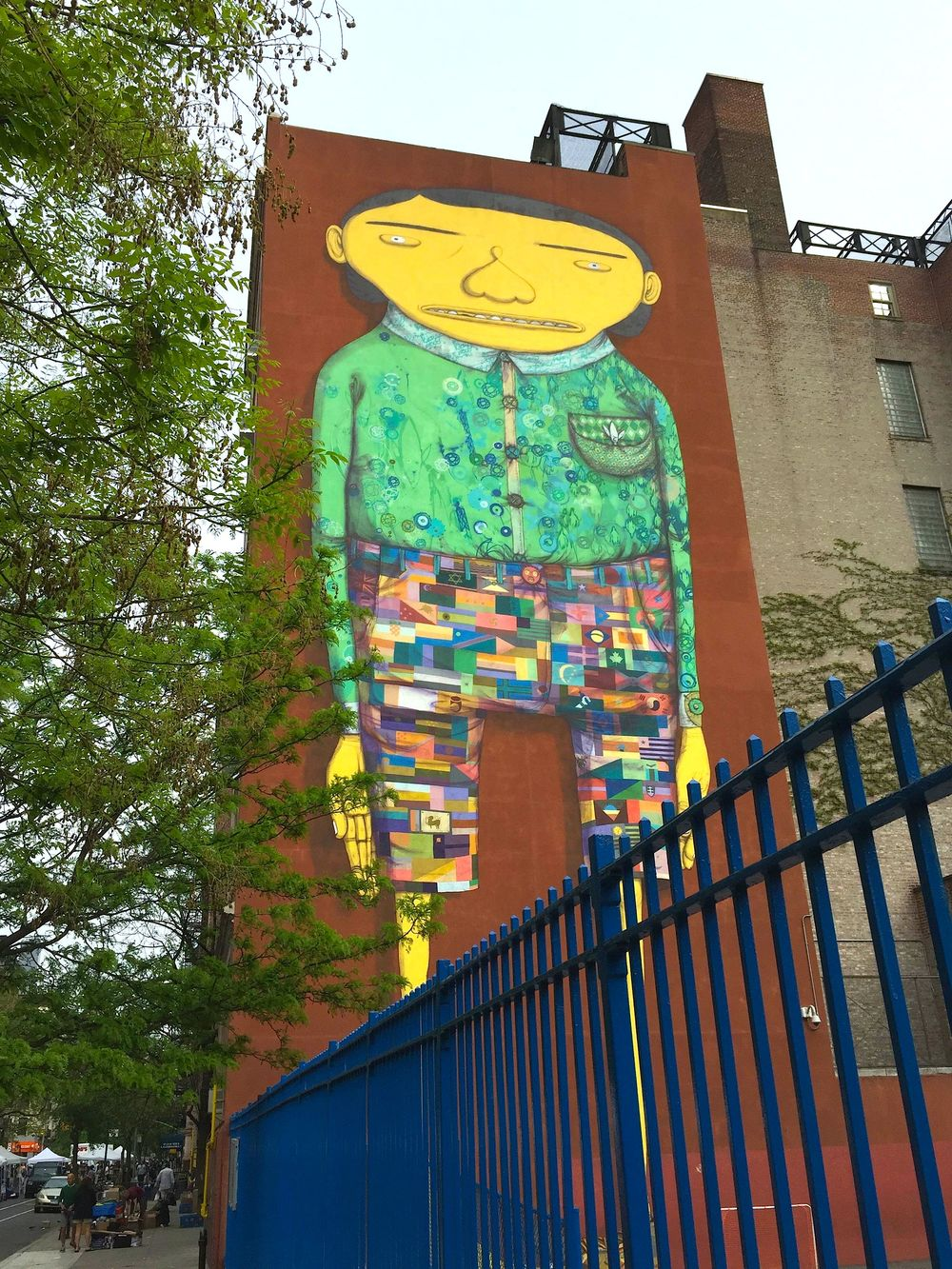 Os Gemeos and Futura 2000, P.S. 11,  320 West 21st Street, NYC