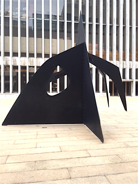 "Alexander Calder, ""Le Guichet"" (The Box Office) 1963"