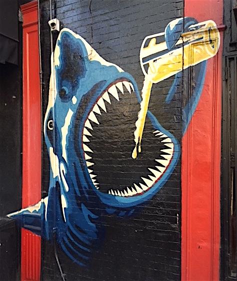 """Zito's """"Shark"""",Soho"""