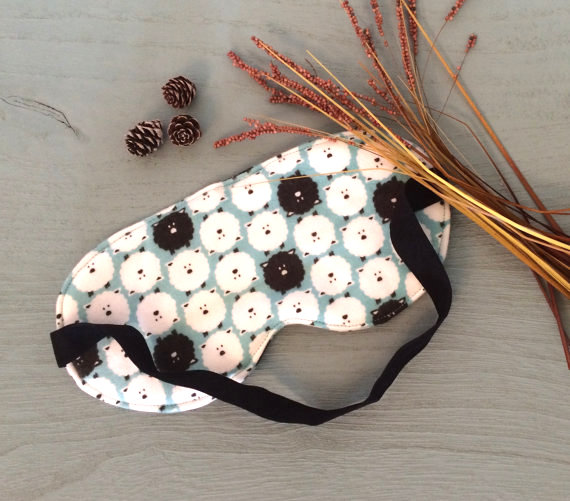 Organic cotton eye mask by  EssentiallySavvy