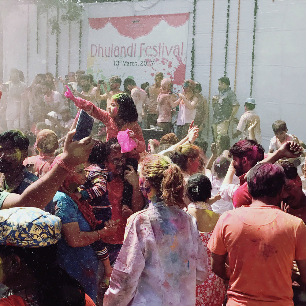 Holi is fun for all ages!