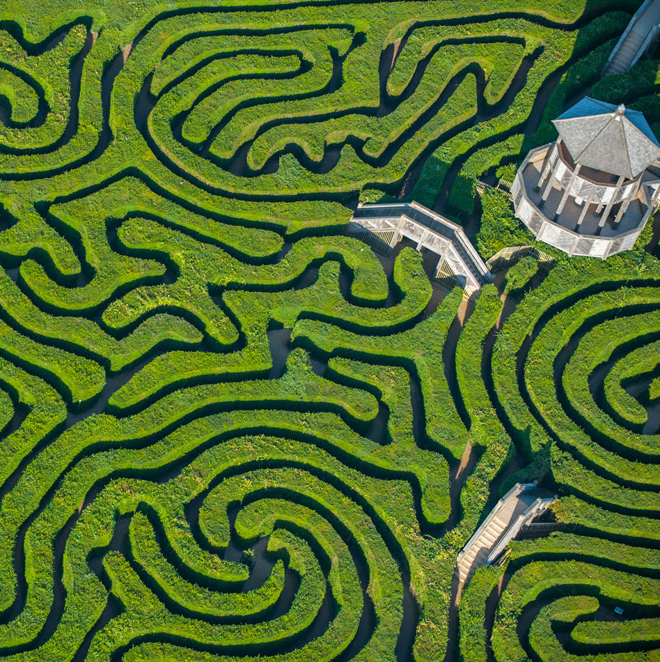 The Longleat Hedge Maze, UK