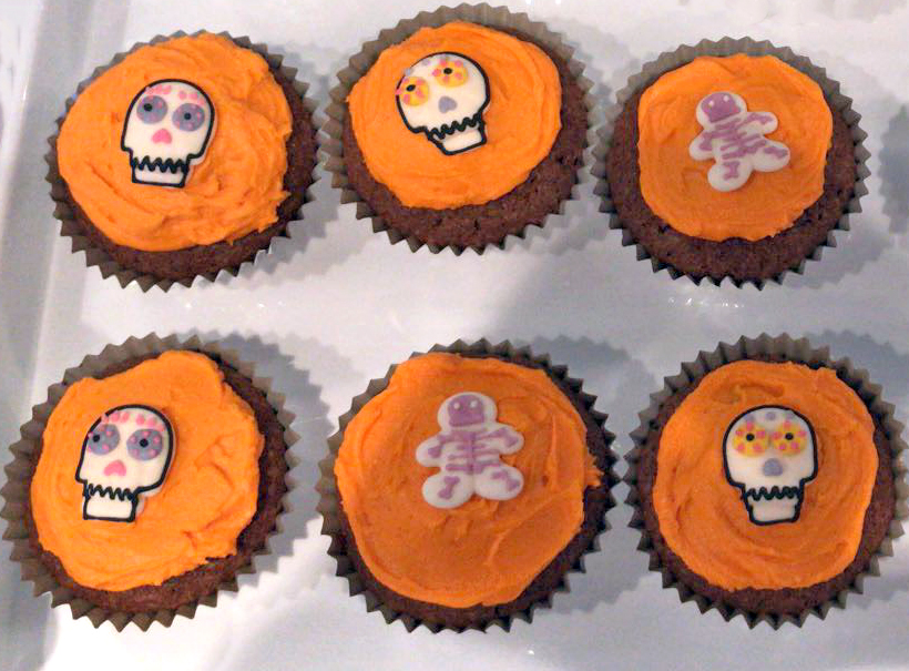 (not historically accurate representations of the original sugar skulls, but delicious nonetheless!)