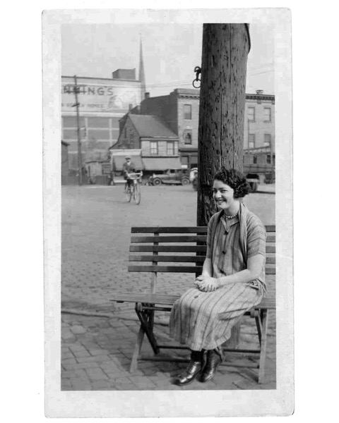 """A woman who inspired me was my aunt, Dorothy Finkle Kaufman. Dorothy was unusual in her family of 8 siblings, as she contracted polio at the age of five in 1910 in Trenton, New Jersey. Her very devout Jewish father even brought her to the nuns at a local convent for prayers in the hopes of healing her. He parents were immigrants from Russia and Lithuania and her father owned a general store. Money was tight and he lost it during the Depression.    Dot was a vibrant and capable member of her family who was not content to stay at home and be cared for; she was a graduate of Rider College and went to work as a secretary, wearing special shoes, leg braces and using canes to walk. She helped other disabled people find employment while working for the State of New Jersey and in her forties, married her boss, Benjamin Kaufman, a highly decorated veteran of World War I and winner of the Congressional Medal of Honor and Croix de Guerre.    Despite her disability, she traveled worldwide with Ben both politically and socially, unlike her able-bodied brothers and sisters. She and Ben, who were married for over 30 years until his death in 1981, became parents to her parents, served as the foundation of her family, and built a home that accommodated their physical limitations. She was my father's closest sister and confidante, and my surrogate mother. it was a pleasure to be a part of her world, as she had exquisite, sophisticated taste and was a lovely and gracious woman with a twinkle in her eye and lavished love and attention on me as if I were her own daughter (she had no children).    We had a special connection and I admired her for her fully realized life, despite a truly terrible health event. I like to think that my hours spent playing with her jewelry box, examining the decor in her home, its textures and colors and absorbing her many interests prepared me for my career as a designer, first in theatre, where I designed costumes for over 30 years, and now as a metalsmith, where the design journey continues. She died in 1987, but in the 30 years since she has been by my side, cheering me on, inspiring me to keep going and creating, no matter what."