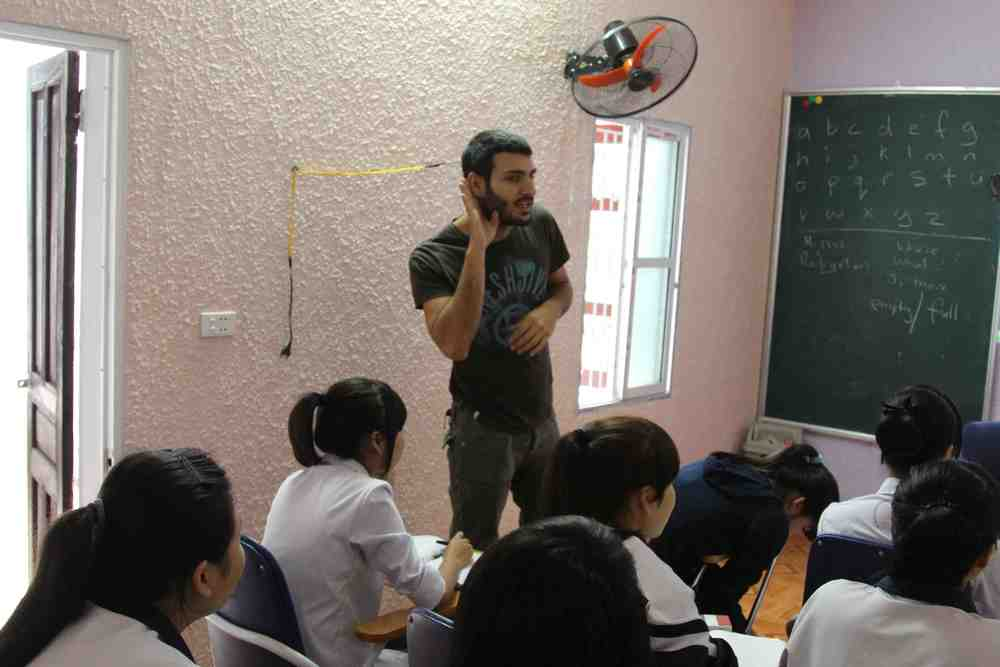 English Classes in Vietnam