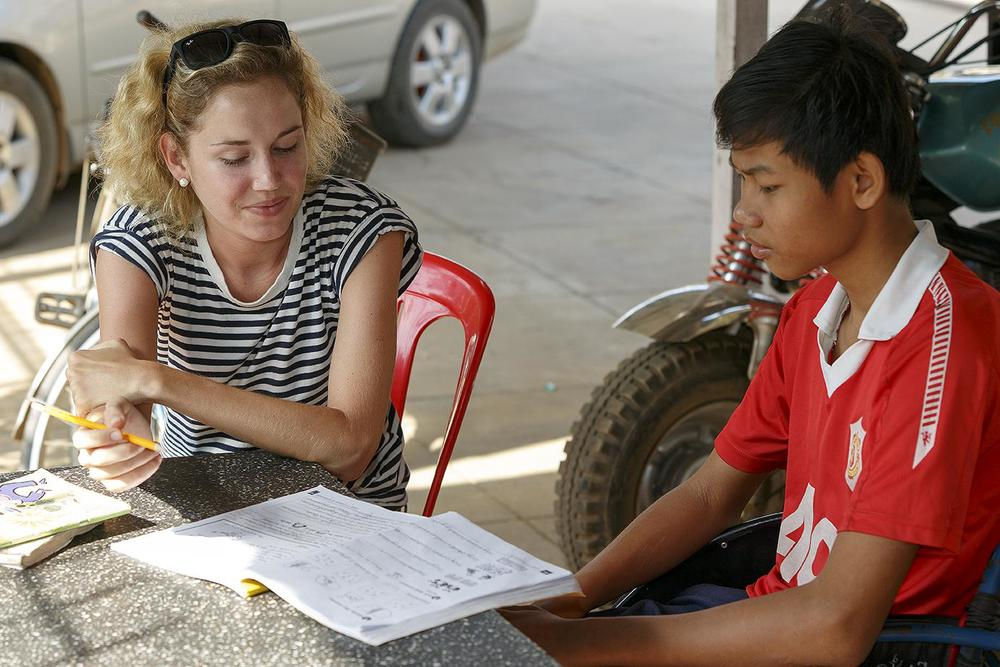 Tutoring in Cambodia