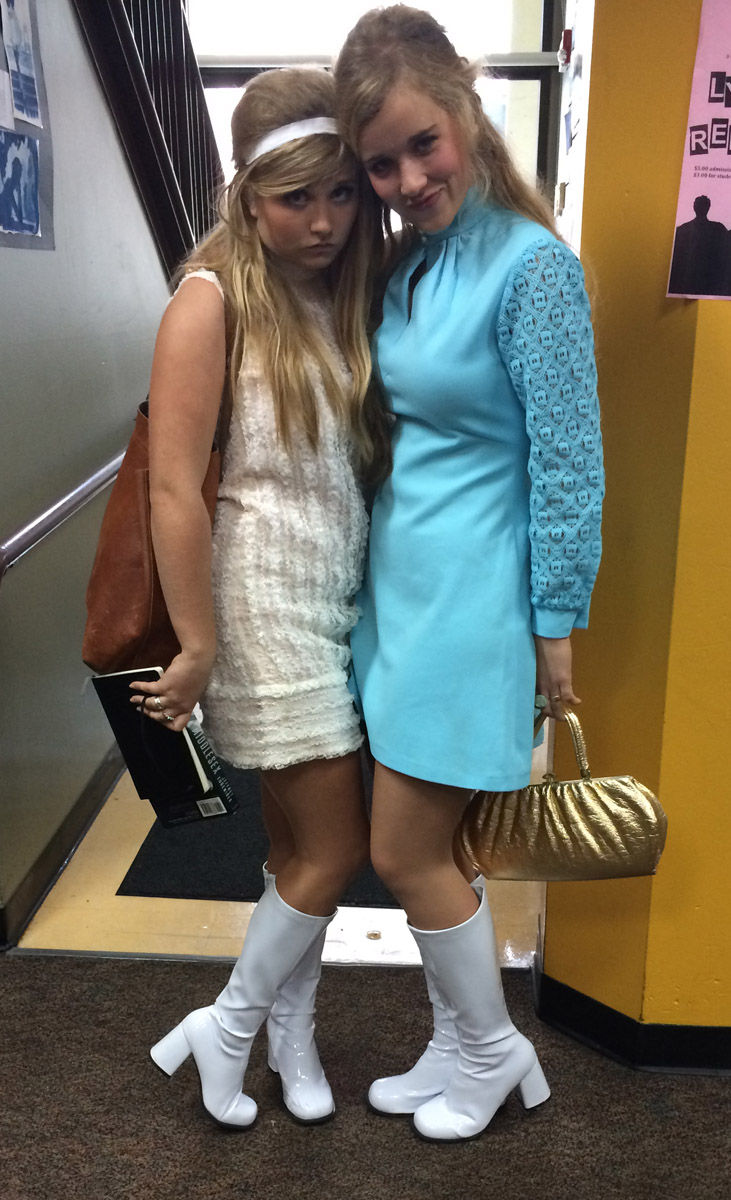 Francesca Rosati and Savannah Kinzer '15