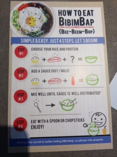 Not sure where to begin?  Oma Bap provides a guide for BibimBap newbies.