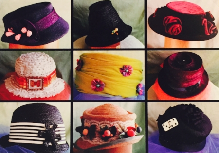 Hats designed by Lily.