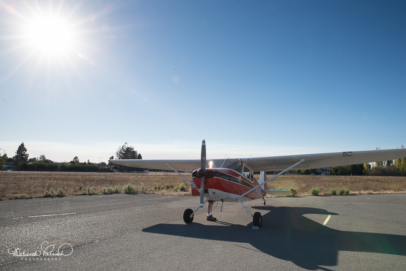 Jim's beautiful vintage aircraft