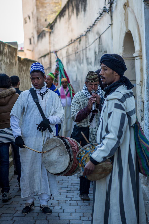 Berber Street Musicians