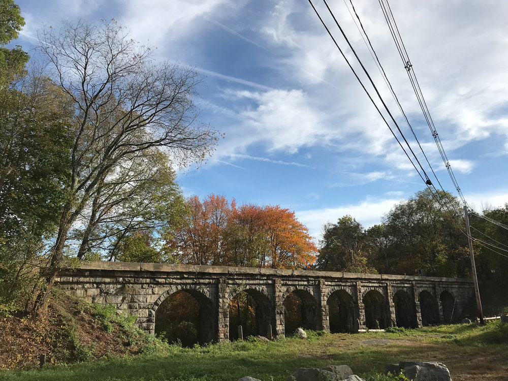 8 Arch Bridge  *also known as Bogastow Brook Viaduct  (Holliston, Massachusetts)