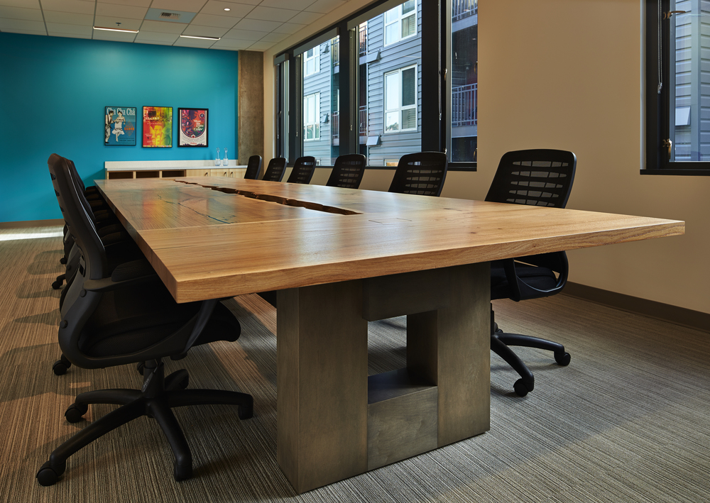 Wood Conference Tables Meyer Wells Reclaimed