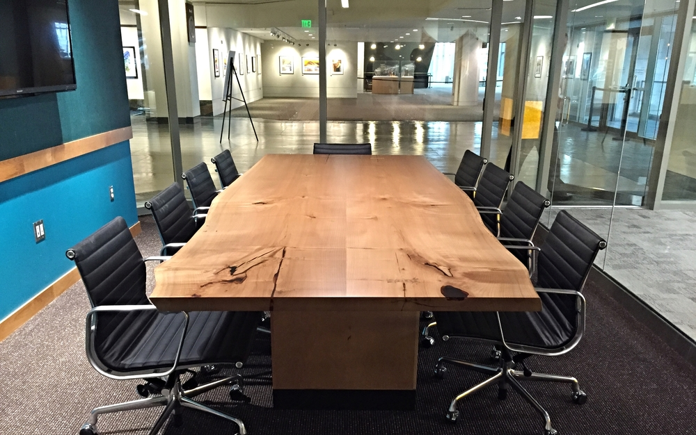 Wood Conference Tables Meyer Wells Reclaimed Wood