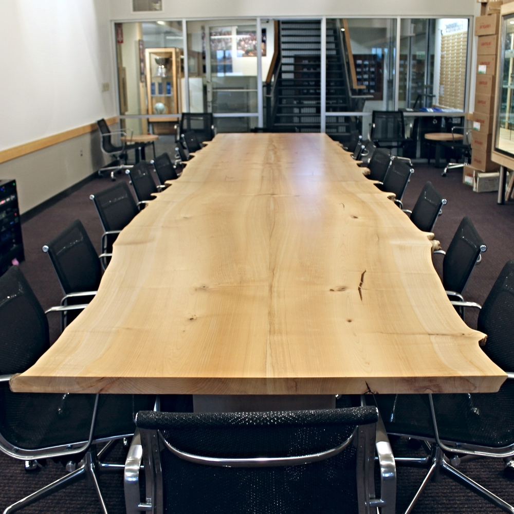 Wood Conference Tables Meyer Wells Reclaimed Wood Furniture - Conference table bases wood