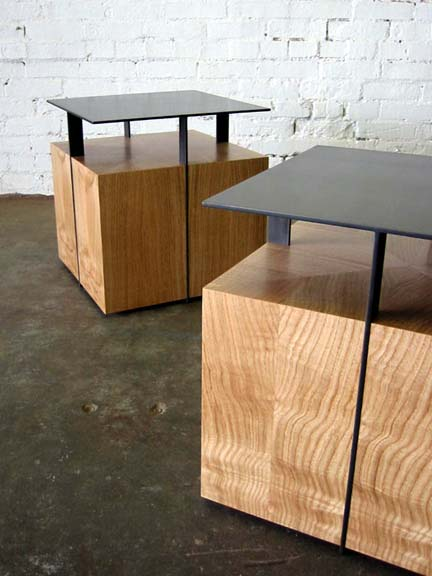 clerestory end table II
