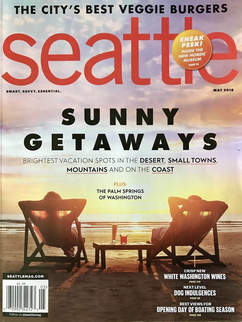 SEATTLE MAGAZINE - May 2018