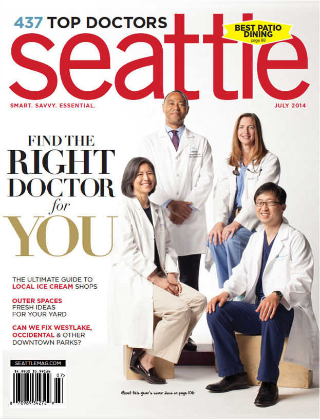 SEATTLE MAGAZINE - July 2014