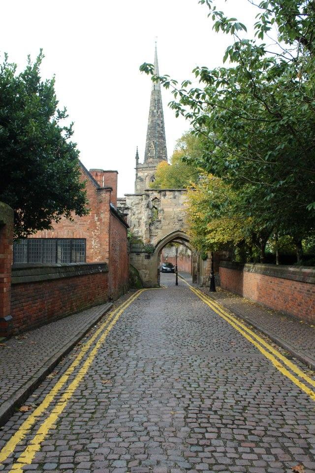 The Castle Gate, Leicester circa 2012.
