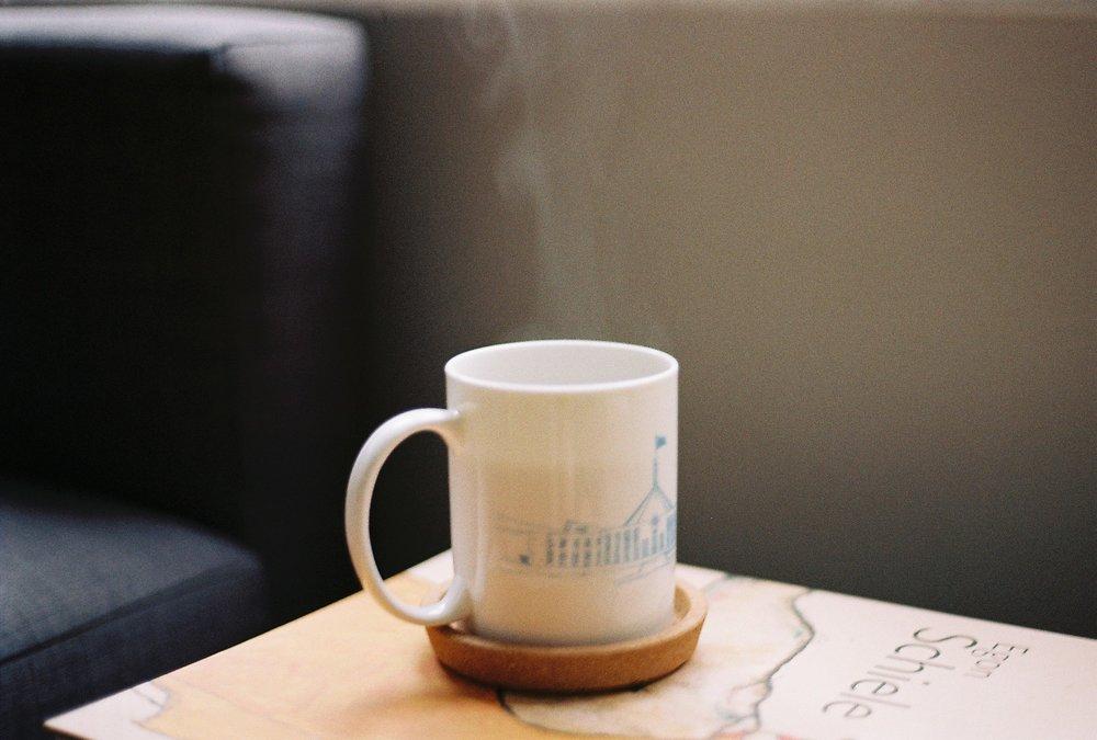 Morning coffee February 2018.Kodak VR Color Plus 200 135-36 35mm film.
