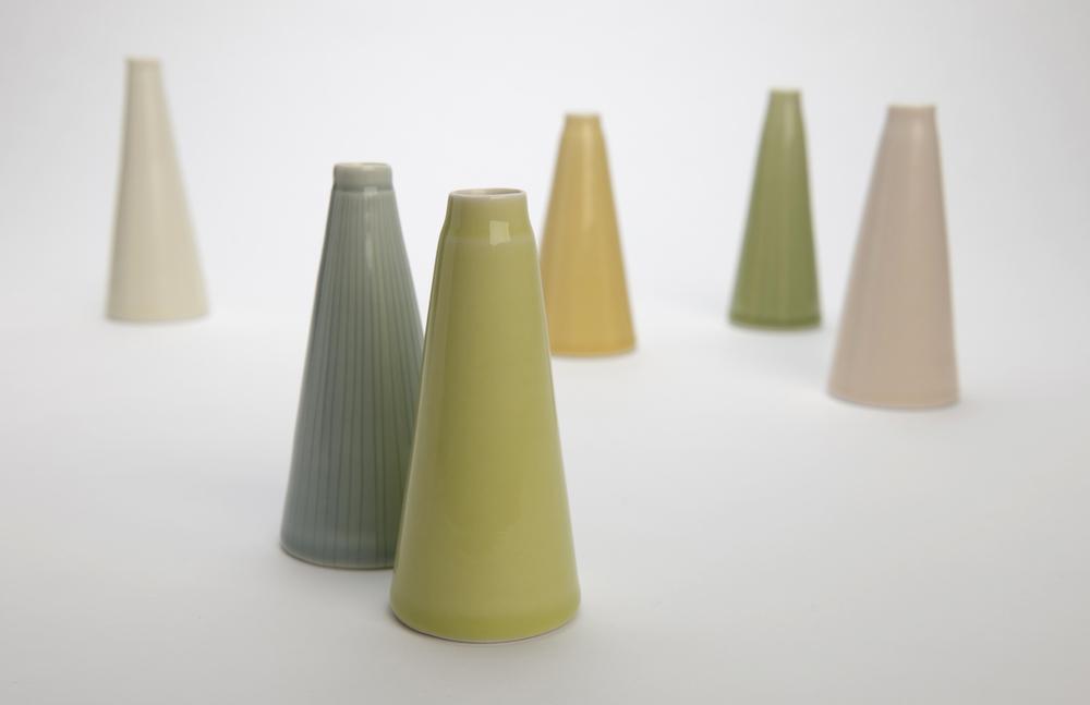 Tall bud vases. RRP $65