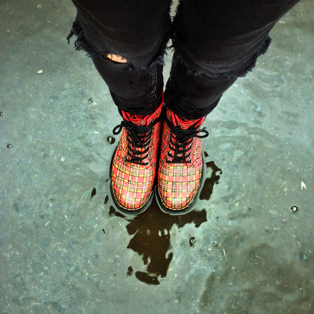 Doc Marten Drench Boot. Perfect for the wet weather
