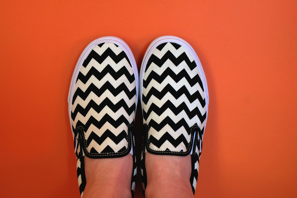 Chevron Slip-on