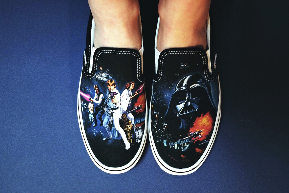 Star Wars slip-on