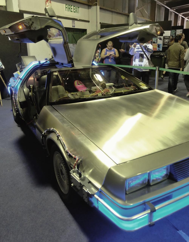 Back to the future, a DeLorean, my dads dream car.
