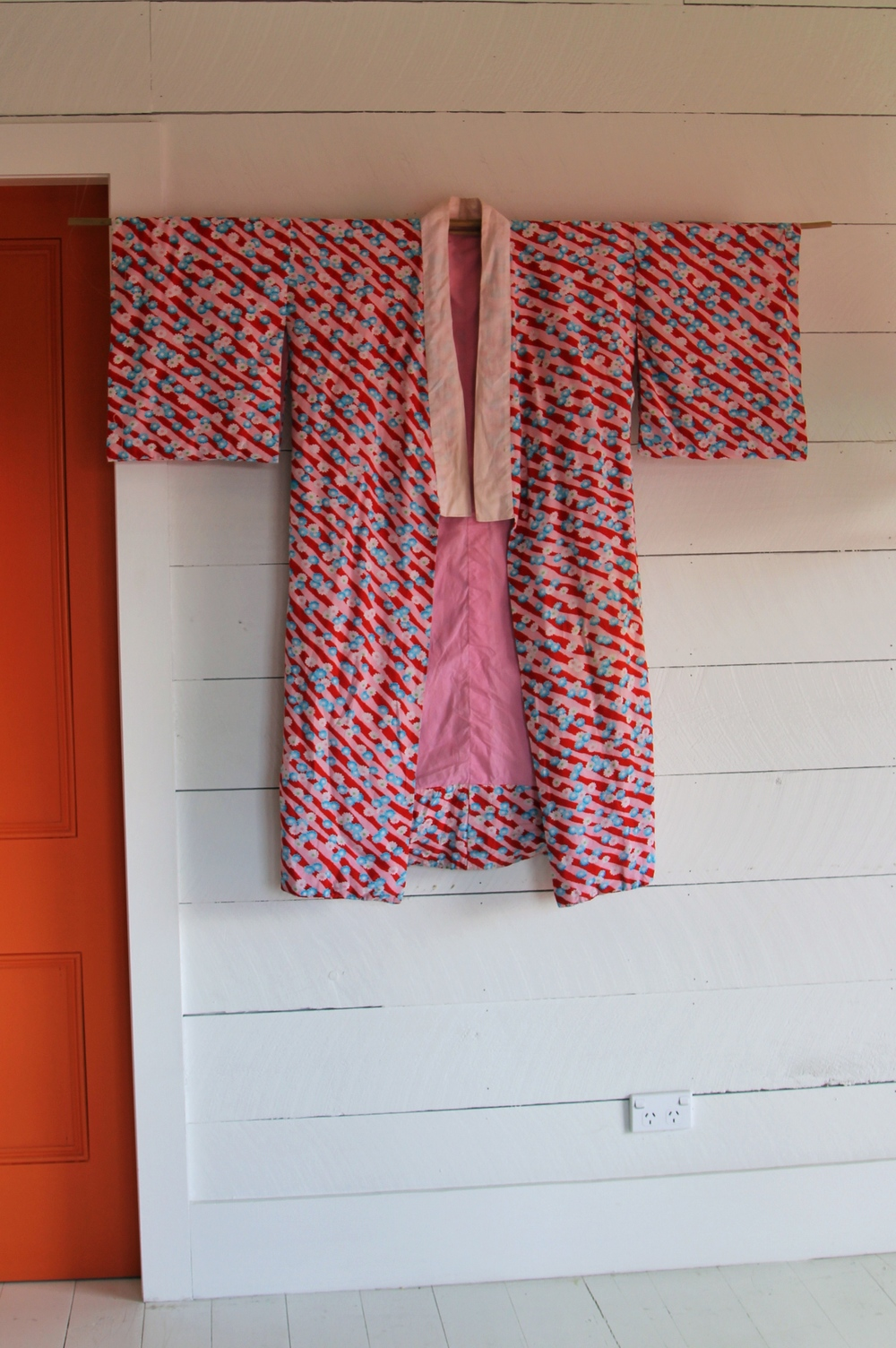 Vintage Cotten Kimono (I use this one as a dressing gown)