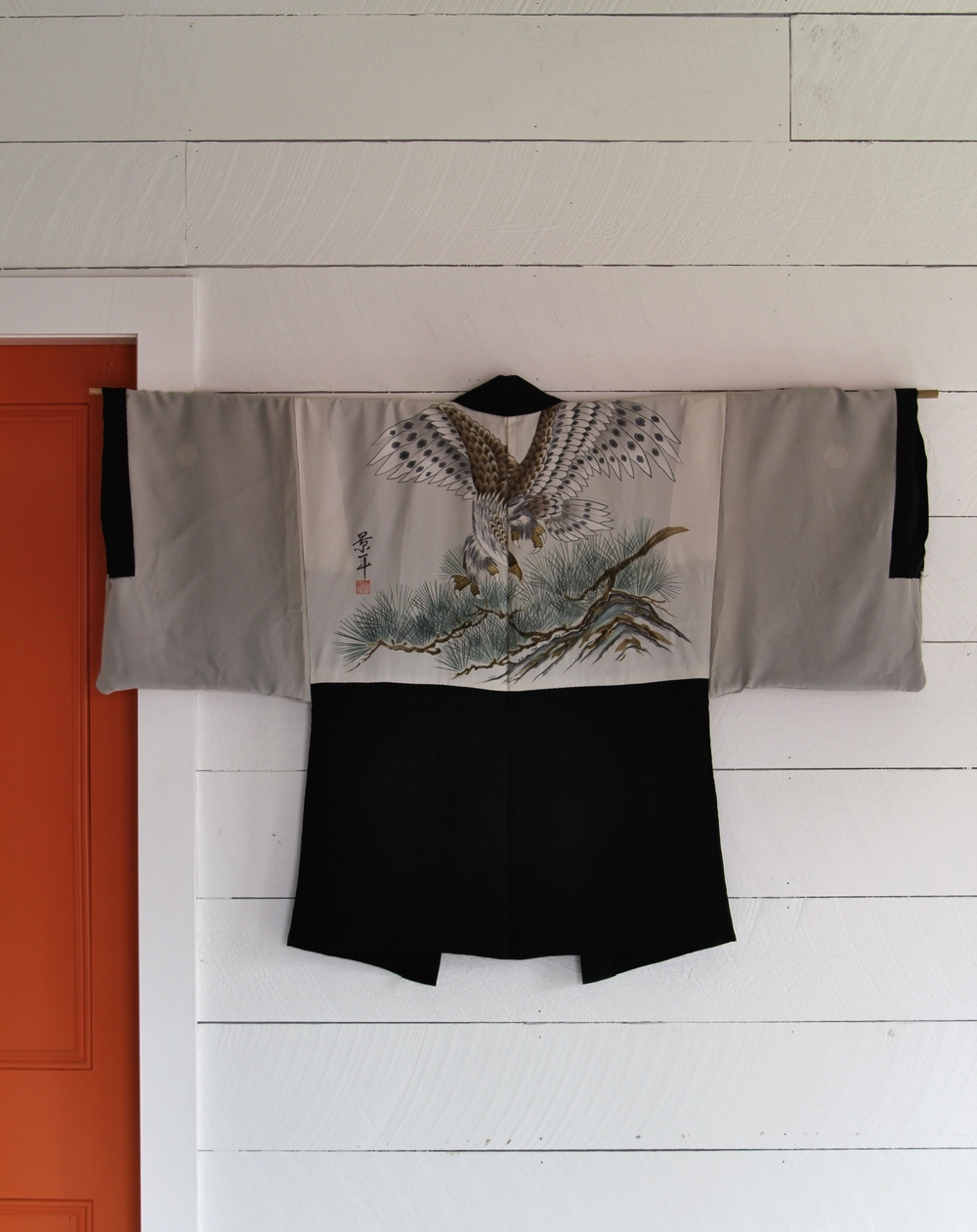 Vintage Silk Kimono (this isn't my kimono but my friend brought it with me)