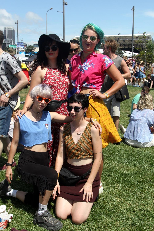 Hannah, Juila, Kate & Tash