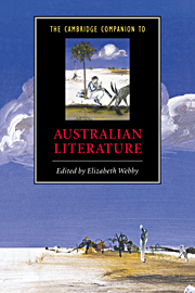 'Contemporary Poetry: Across Party Lines', The Cambridge Companion to Australian Literature, ed. Elizabeth Webby, Cambridge University Press, Cambridge, 2000.
