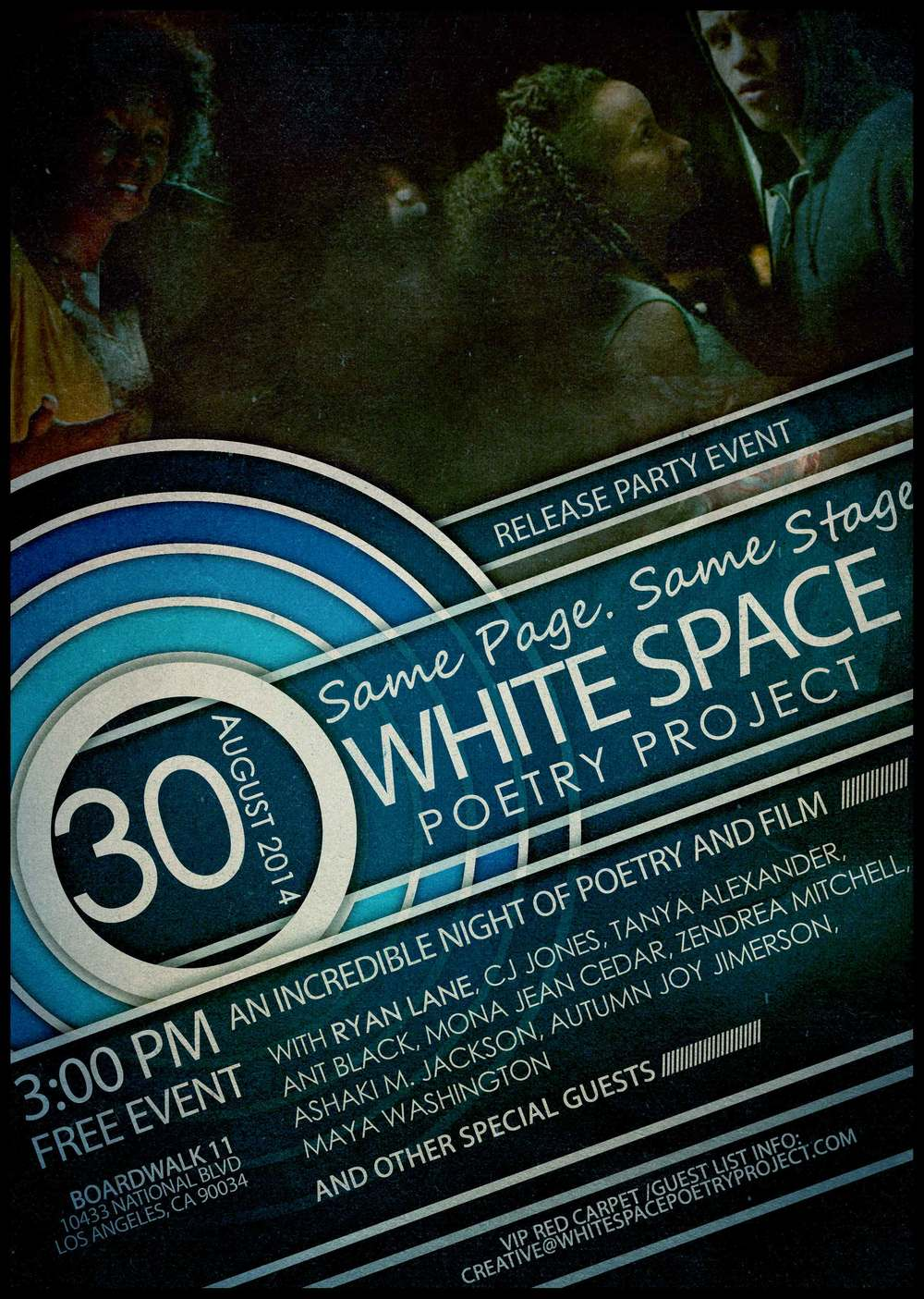 White Space Poetry Project Release Event